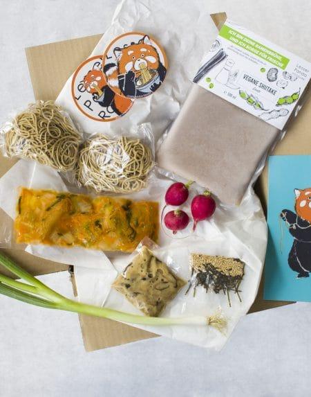Vegane Shiitake Dashi Ramen